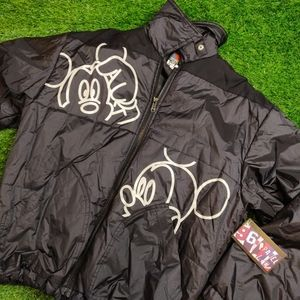 VINTAGE MICKEY MOUSE POPPINS PUFFER JACKET